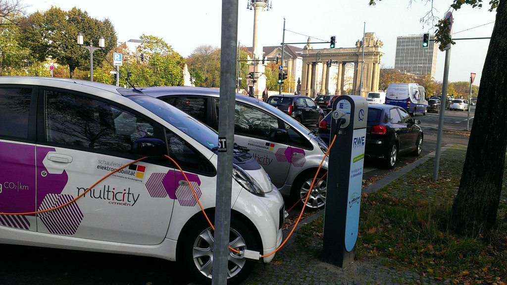 elektrisches Multicity-Carsharing in Berlin